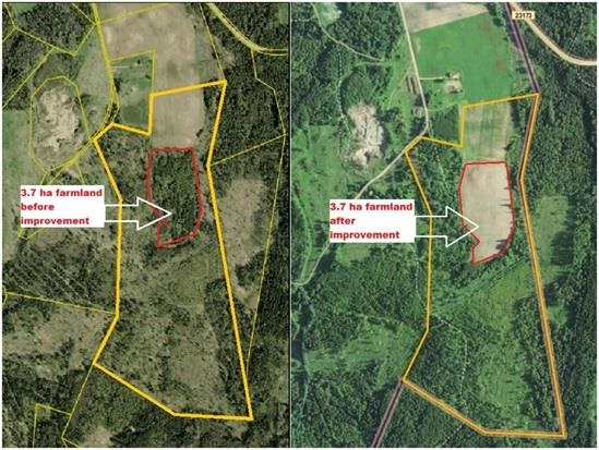 Kuidas meie põllumaade kordategemise projekt on tõstnud maa väärtust 3 kuni 4 korda